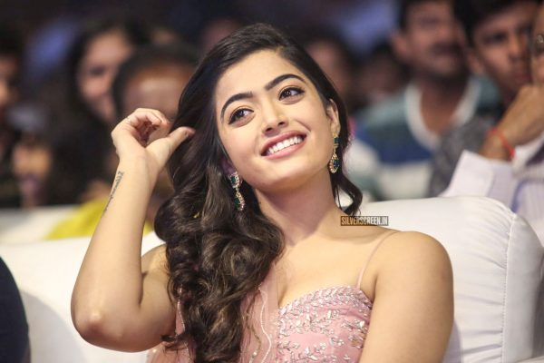 Rashmika Mandanna At The Geetha Govindam Audio Launch