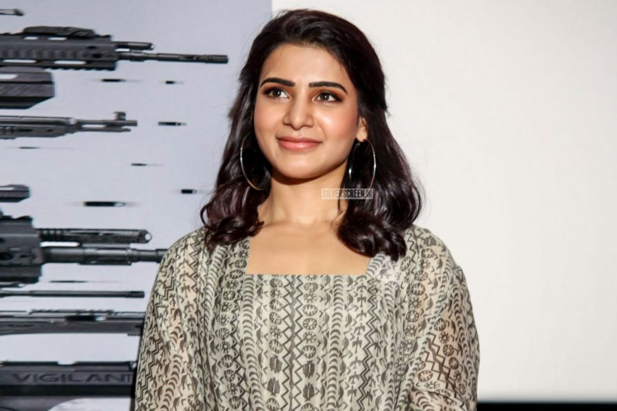 Samantha Akkineni At The Gudachari 116 Trailer Launch