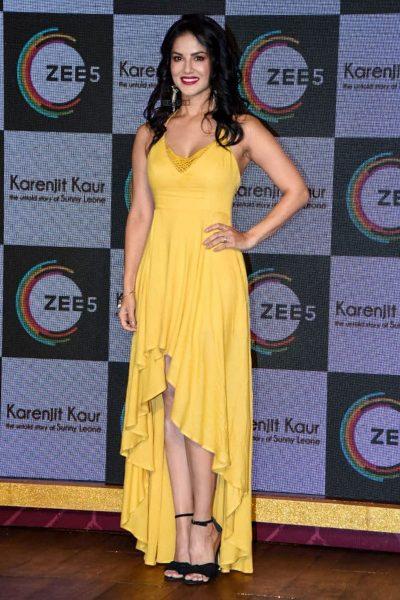 Sunny Leone At The Trailer Launch Of Karenjit Kaur