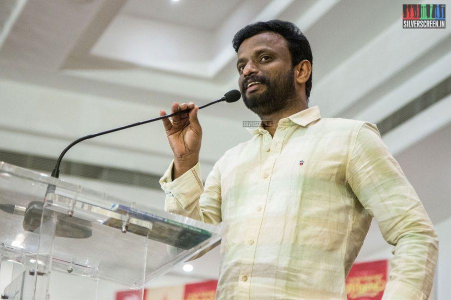 Pandiraj At The Kadaikutty Singam Success Meet