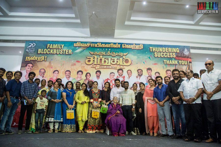 Kadaikutty Singam Success Meet Photos