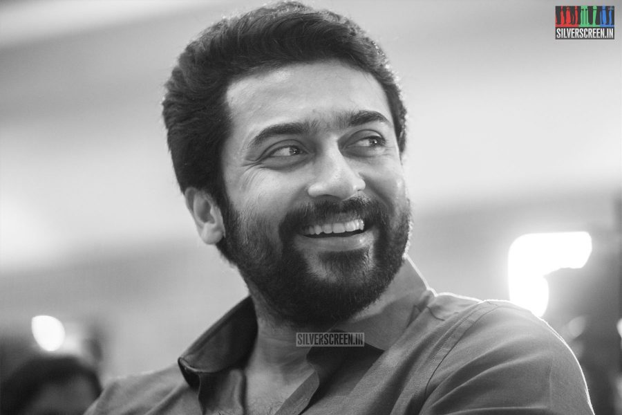 Suriya At The Kadaikutty Singam Success Meet