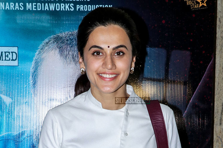 Taapsee Pannu At The Mulk Premiere