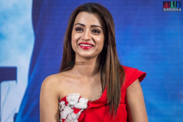 Trisha At The Mohini Press Meet