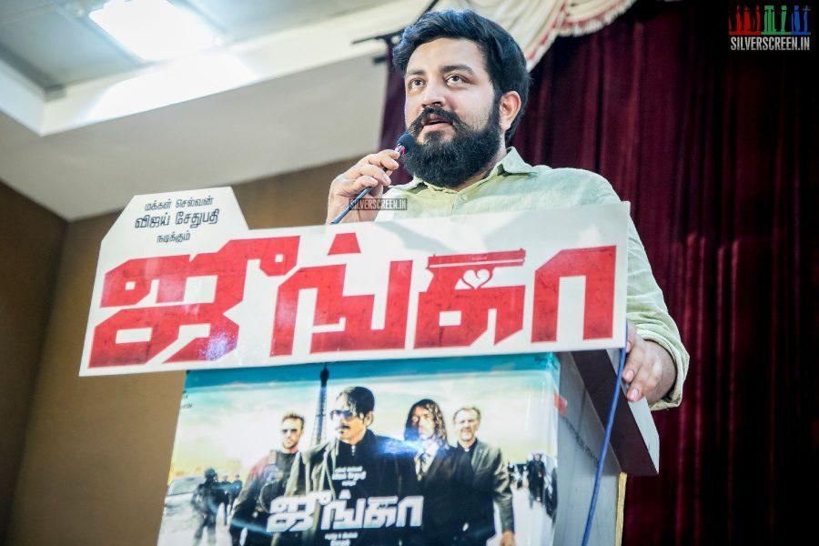 Siddarth Vipin At The Junga Press Meet