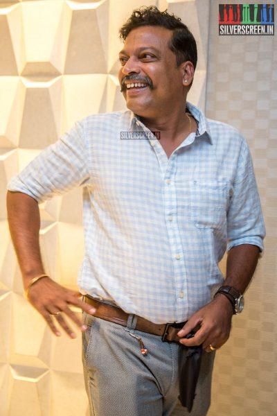 John Vijay At The Saamy Square Audio Launch