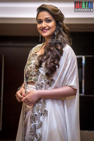Keerthy Suresh At The Saamy Square Audio Launch