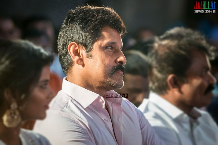 Vikram At The Saamy Square Audio Launch