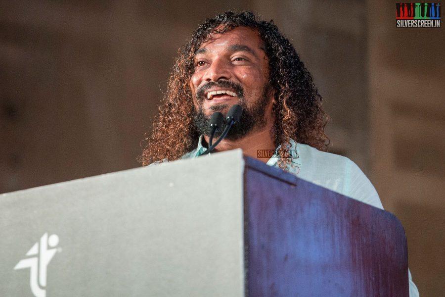 Stunt Silva At The Saamy Square Audio Launch