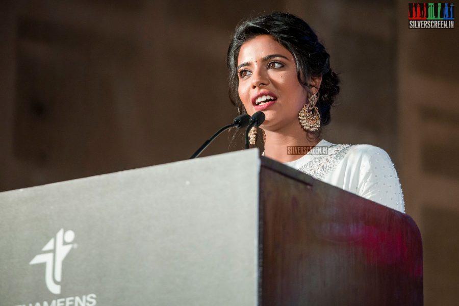 Aishwarya Rajesh At The Saamy Square Audio Launch