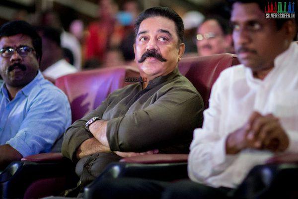 Kamal Haasan At The 'Idhu Nammavar Padai' Album Launch