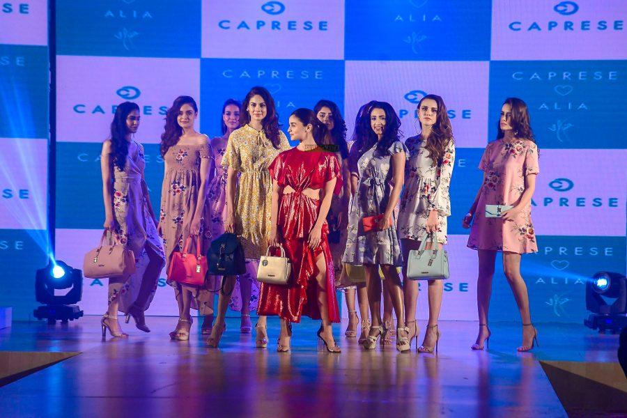 Alia Bhatt Walks For Caprese's New Collection