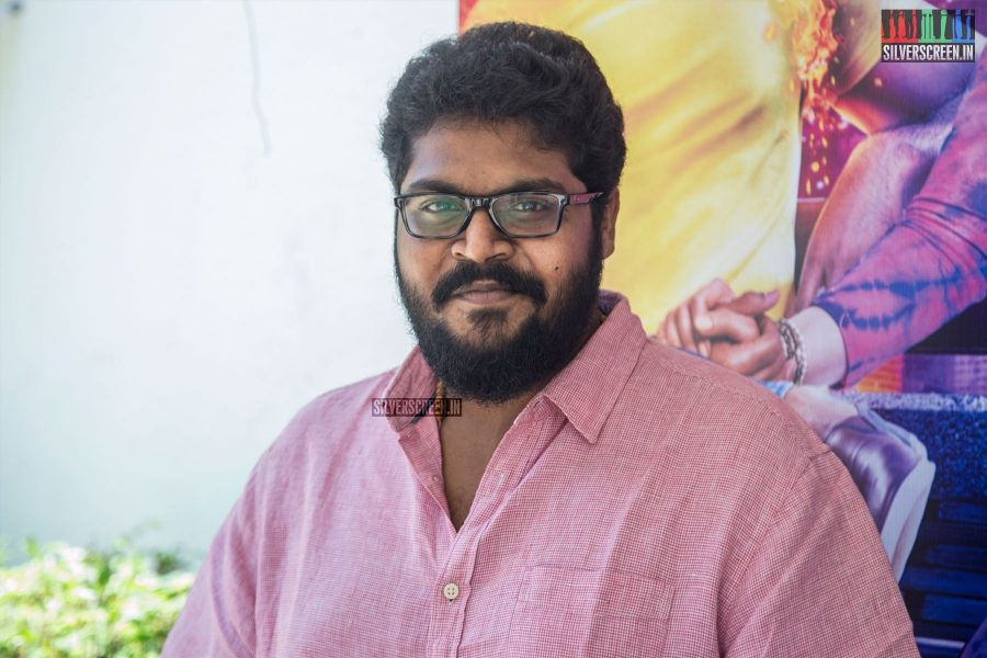 Ajay Gnanamuthu At The Imaikkaa Nodigal Press Meet
