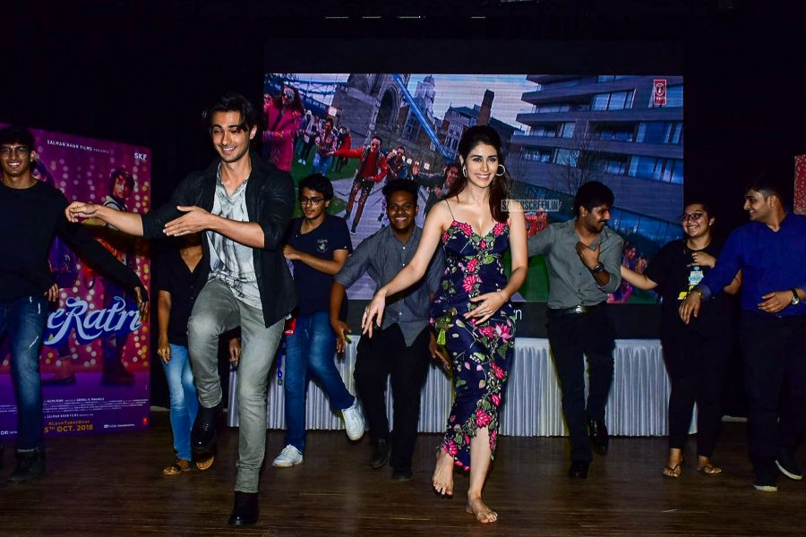 Ayush Sharma And Warina Hussain Promote Loveratri