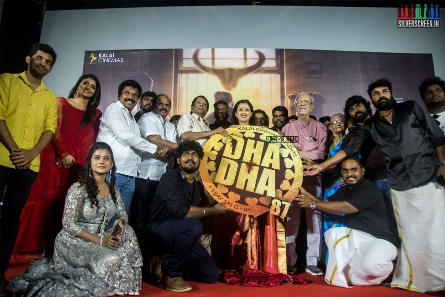Dha Dha 87 Audio Launch Photos