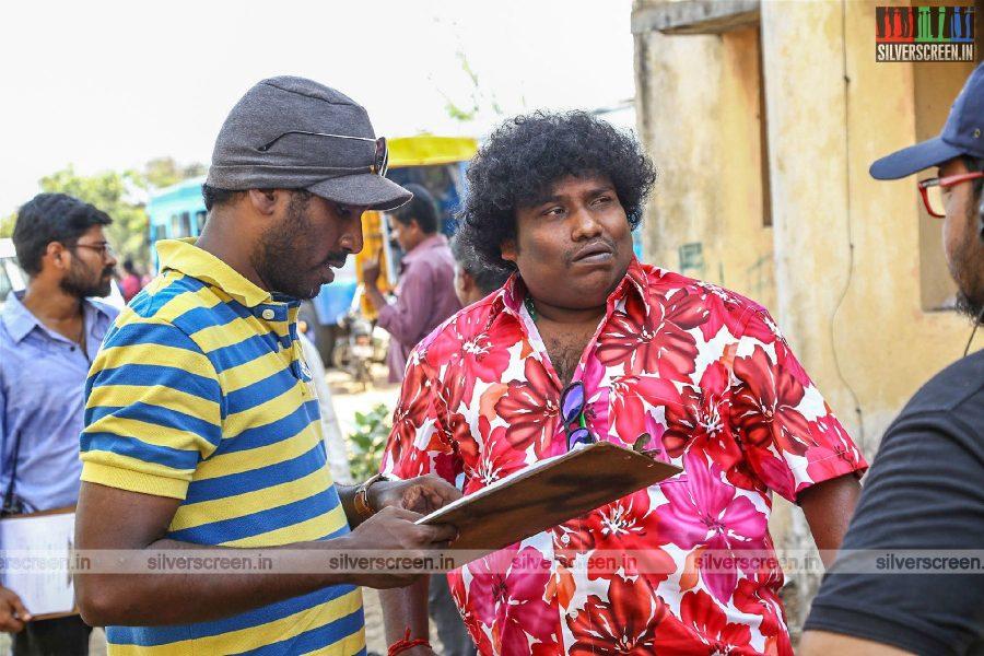 Echarikkai Movie Stills Starring Yogi Babu