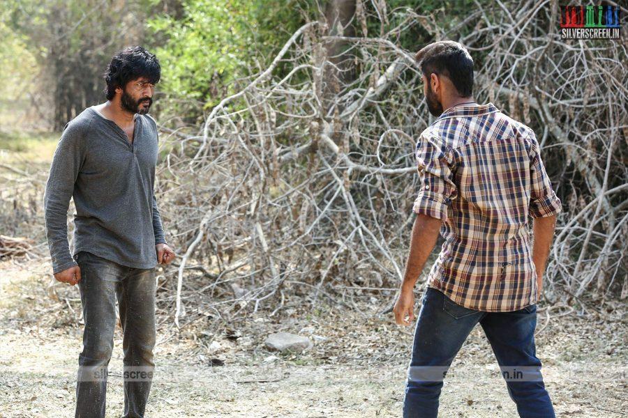Echarikkai Movie Stills Starring Sathyaraj