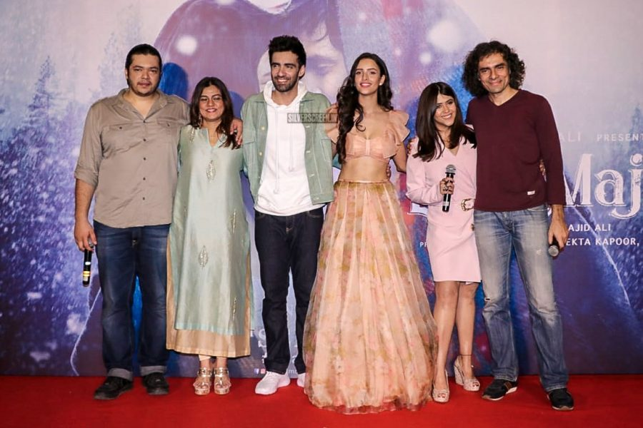 Ekta Kapoor, Imtiaz Ali At The Laila Majnu Trailer Launch