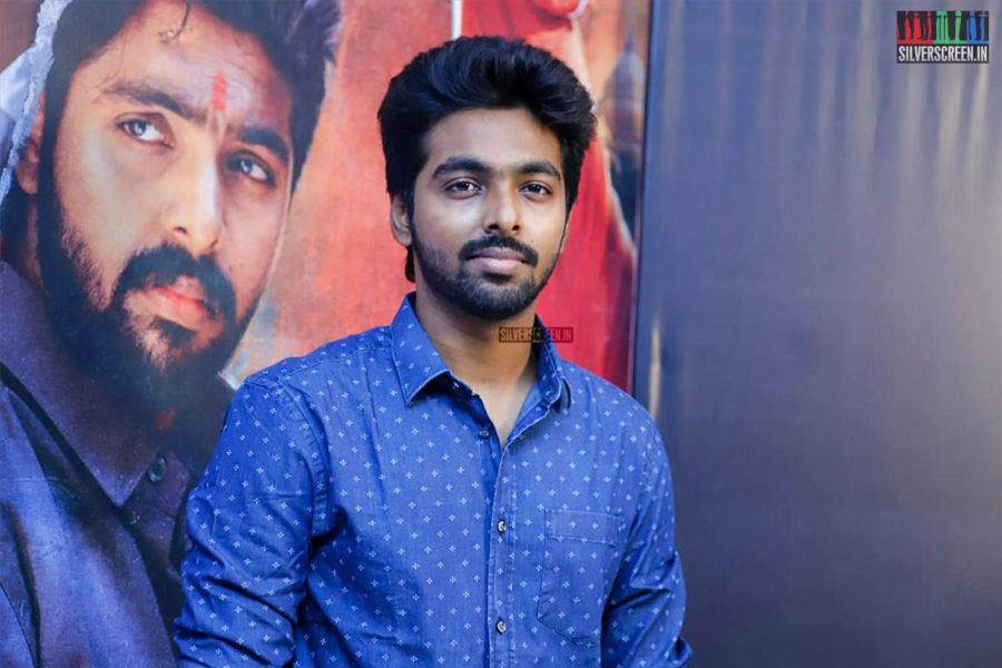 G.V.Prakash Kumar At The Adangathey Audio Launch