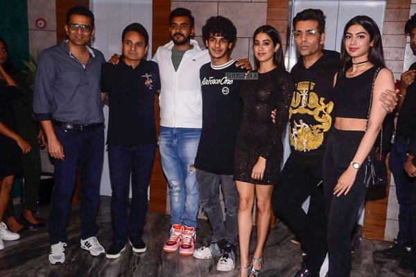 Ishaan Khatter & Jhanvi Kapoor At The Dhadak Success Meet