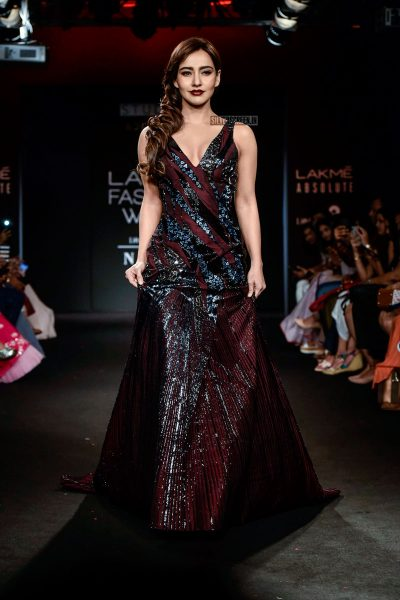 Neha Sharma At The Lakme Fashion Week 2018