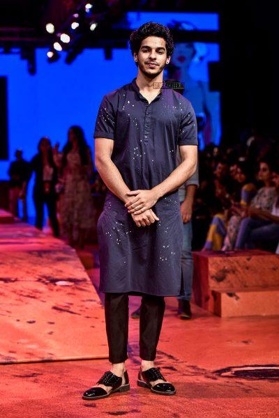 Ishaan Khattar At The Lakme Fashion Week 2018