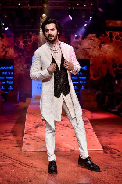 Varun DHawan At The Lakme Fashion Week 2018