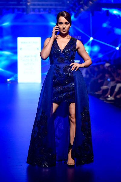 Kangana Ranaut At The Lakme Fashion Week 2018