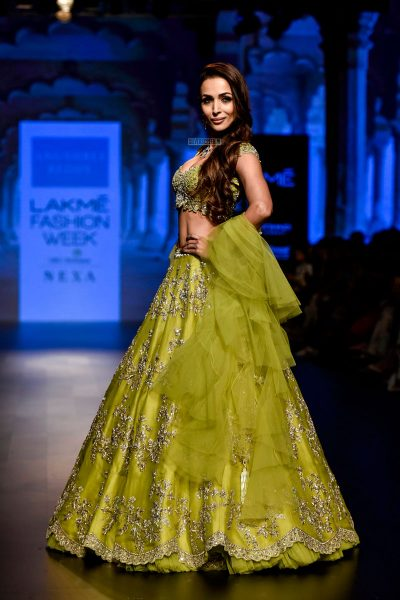 Malaika Arora Khan At The Lakme Fashion Week 2018