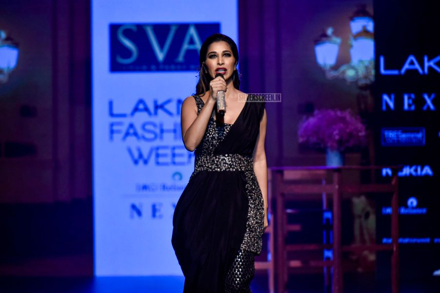 Sophie Choudry At The Lakme Fashion Week 2018
