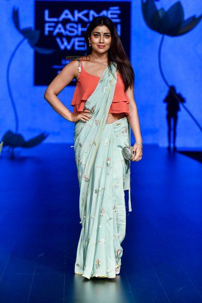 Shriya Saran At The Lakme Fashion Week 2018