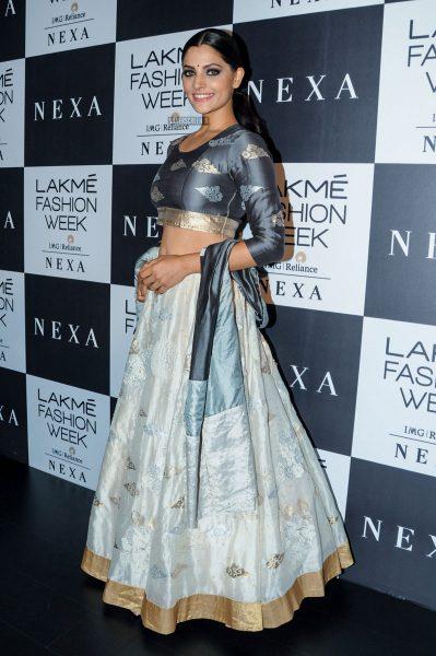 Saiyami Kher At The Lakme Fashion Week 2018