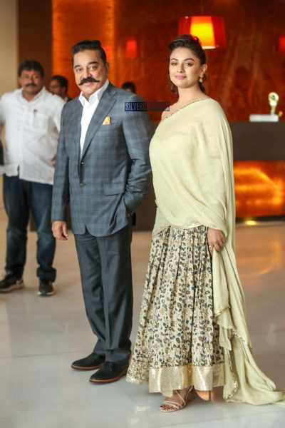 Kamal Haasan, Pooja Kumar At The Vishwaroopam 2 Audio Launch