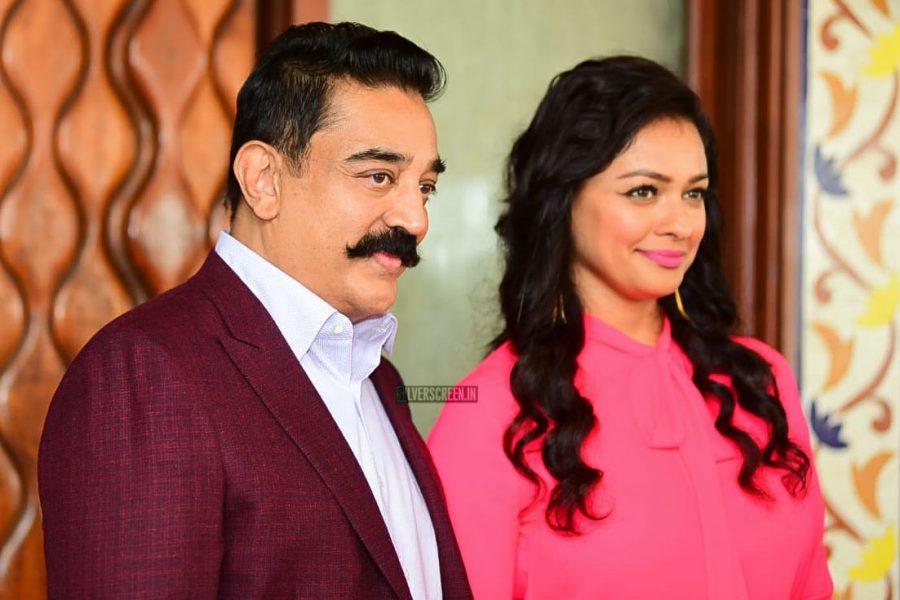 Kamal Haasan, Pooja Kumar Promote Vishwaroop 2