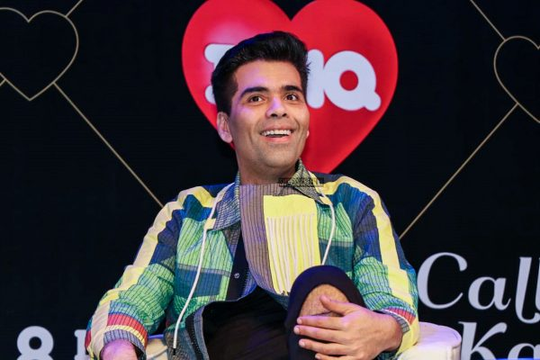 Karan Johar And Neha Dhupia On The Sets Of Calling Karan Season 2