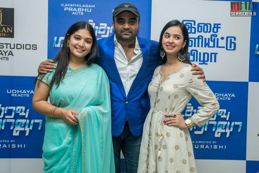 Udhaya At The Utharavu Maharaja Audio Launch
