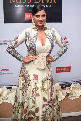 Lara Dutta, Sophie Choudry At The Miss Diva 2018