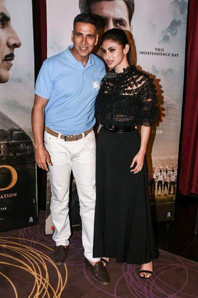 Mouni Roy And Akshay Kumar Promote Gold