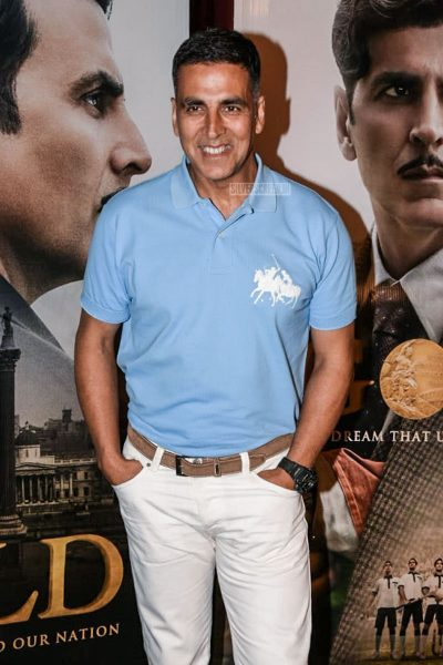 Akshay Kumar Promotes Gold
