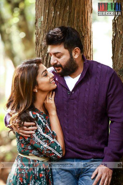 Naragasooran Movie Stills Starring Arvind Swami, Sundeep Kishan, Shriya Saran