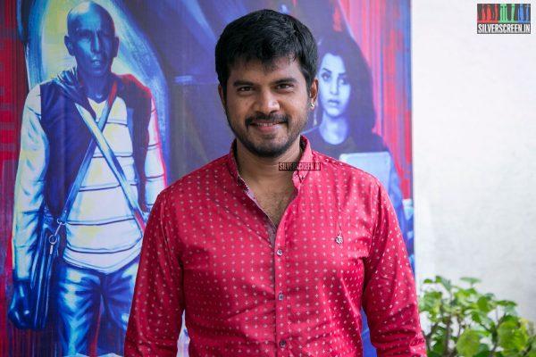 Pa Vijay At The Aaruthra Audio Launch