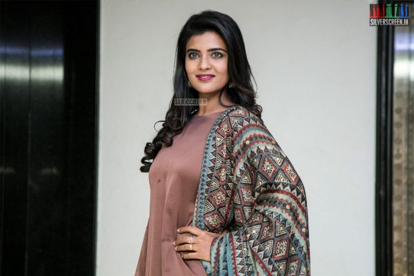 Aishwarya Rajesh At The Lakshmi Press Meet