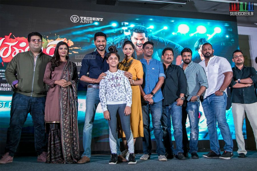 Prabhu Deva, Aishwarya Rajesh At The Lakshmi Press Meet