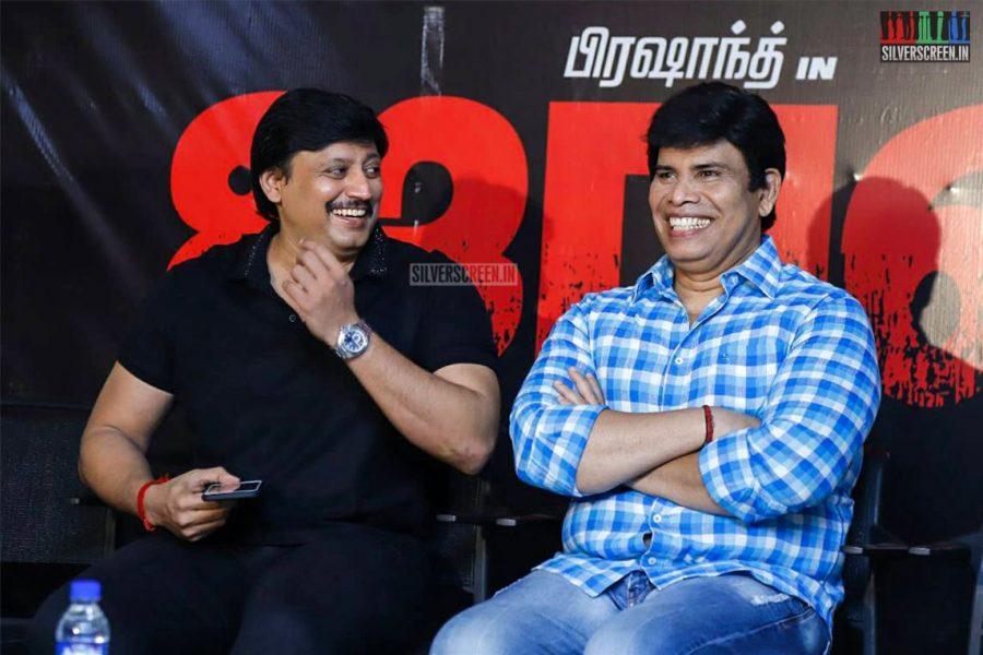 Prashanth & Anandhraj At The Johnny Press Meet