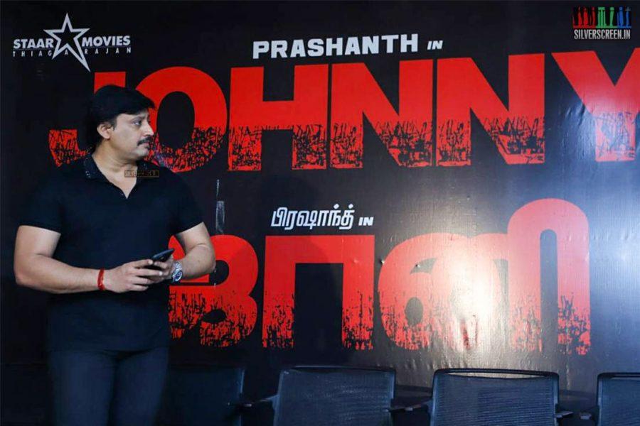 Prashanth At The Johnny Press Meet