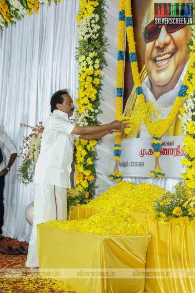 Prayer Meet For M Karunanidhi