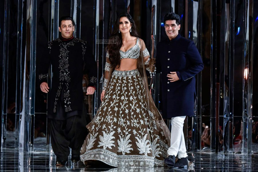 Salman Khan, Katrina Kaif Walks The Ramp For Manish Malhotra
