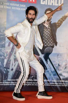 Shahid Kapoor At The Batti Gul Meter Chalu Trailer Launch