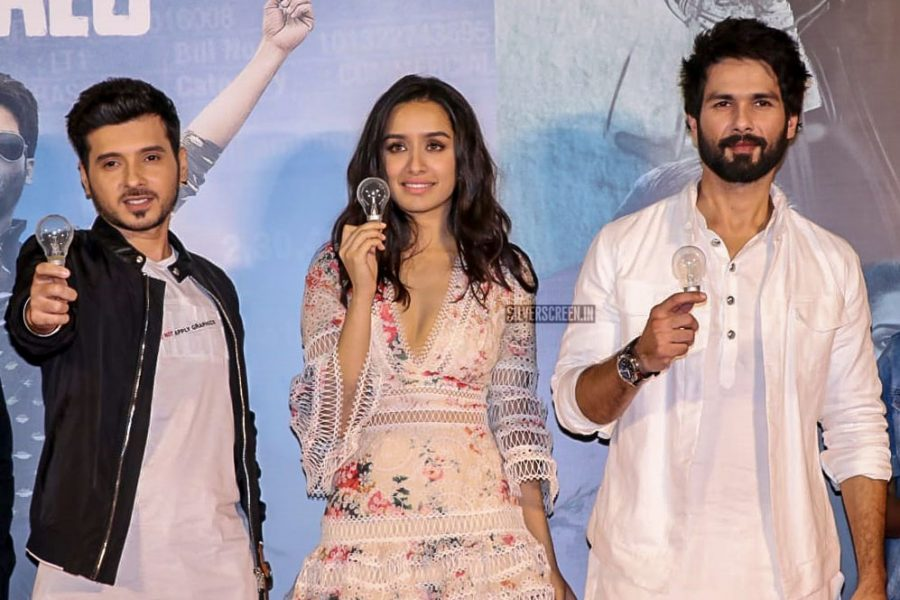 Shahid Kapoor, Shraddha Kapoor At The Batti Gul Meter Chalu Trailer Launch