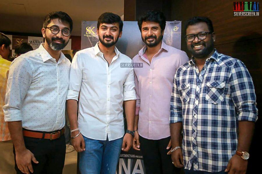 Arunraja Kamaraj And Sivakarthikeyan At The Kanaa Audio Launch
